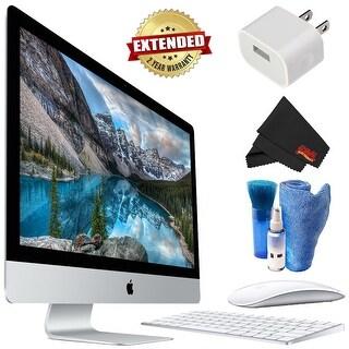 Apple iMac 27 Inch 5K Desktop Bundle starter 2 year extended warranty