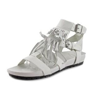 Vince Camuto Simone Women Open Toe Leather White Sandals