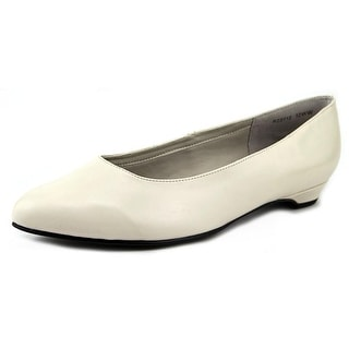 Rose Petals by Walking Cradles Butter 2 WW Round Toe Leather Flats