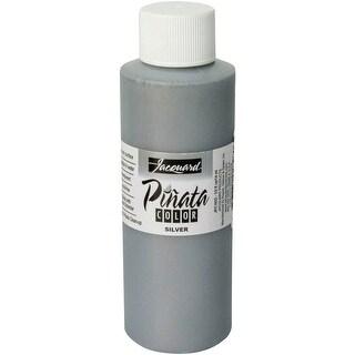Jacquard Pinata Color Alcohol Ink 4Oz-Silver