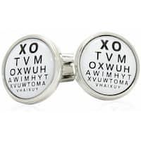 Optometrist Snellen Chart Eye Care Specialists Eye Check Cufflinks