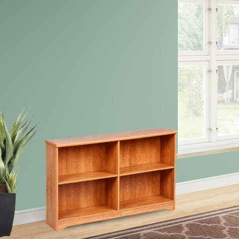 Leonne 2-Shelf Sofa Bookcase
