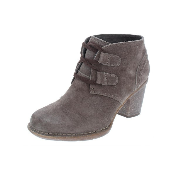 372be0d9 Shop Clarks Womens Carleta Lyon Booties Suede Ankle - Free Shipping ...