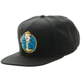 Fallout Vault Boy Thumbs Up Snapback Hat