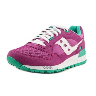 Saucony Shadow 5000 Women  Round Toe Suede Purple Running Shoe
