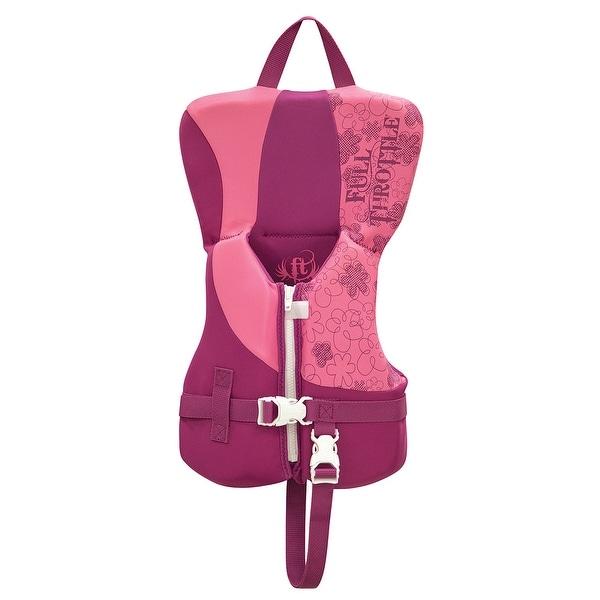 Full throttle infant rapid dry pfd pink/purple