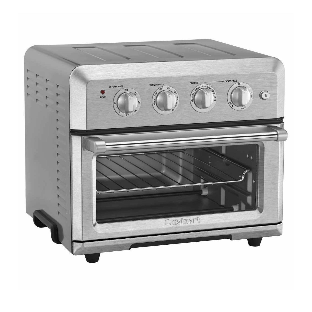 Shop Cuisinart Air Fryer Toaster Oven Silver Renewed