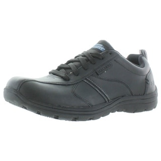 Skechers Work Hobbes Men's Slip Resistant Oxford Shoes