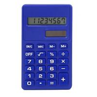 Office LCD Display Small Scientific Electronic Calculator Blue