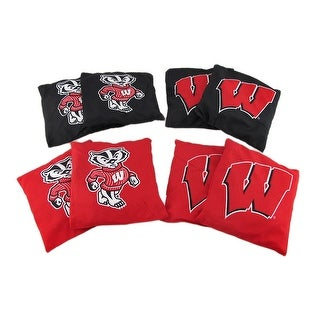 NCAA Wisconsin Badgers Licensed Tailgate Toss Replacement Bags - Multicolored