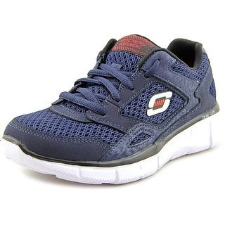 Skechers Boys' Equalizer   Round Toe Leather  Sneakers