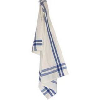 "Provencial Blue Stripe - Cream Towel 20""X28"""