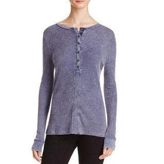 Project Social T Womens Thermal Top Long Sleeves Textured - s