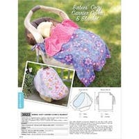 No Size - Babies' Cozy Carrier Cover & Blanket - Pattern
