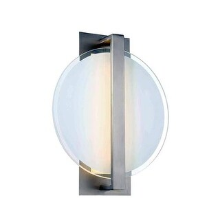 Modern Forms WS-29621 Reflectance 1 Light LED ADA Compliant Wall Sconce - 18 Inches Tall - Satin Nickel