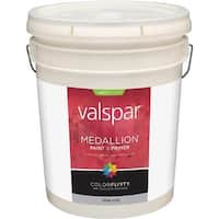 Valspar Ext Sat White Paint 027.0004100.008 Unit: PAIL