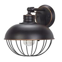 Globe Electric 65413 Elior Single Light 10 Inch Wide Outdoor Wall Sconce