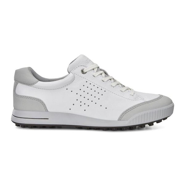 ed07af36bb187 Shop Ecco Mens Golf Street Retro White Concrete 42 Euro 8-8.5 Shoes - Free  Shipping Today - Overstock - 17122819