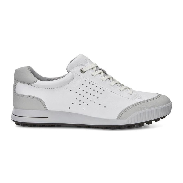 95aa202a1cb5 Shop Ecco Mens Golf Street Retro White Concrete 42 Euro 8-8.5 Shoes - Free  Shipping Today - Overstock - 17122819