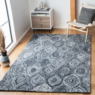 Link to Safavieh Handmade Ikat Madyson Modern Wool Rug Similar Items in Transitional Rugs