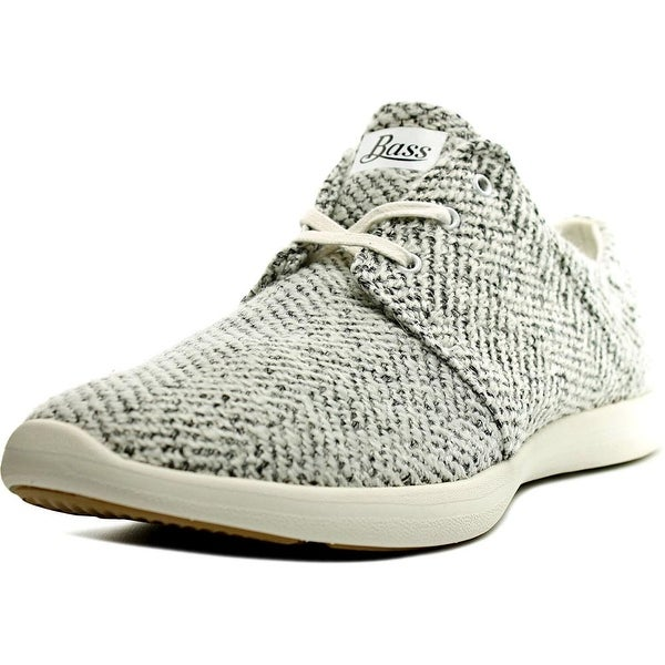 GH Bass & Co Shelby Women Round Toe Canvas White Fashion Sneakers