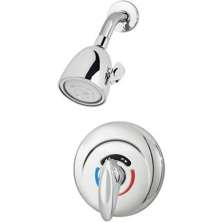 Symmons 1-100-1.5 1.5 GPM Shower Faucet and Valve Trim with Safety Stops