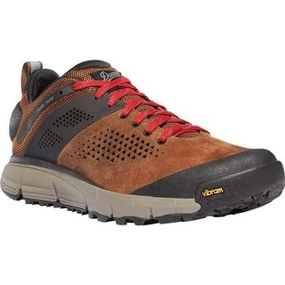 "Danner Men's Trail 2650 3"" Hiking Boot Brown/Red Leather/Textile"