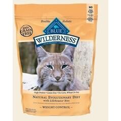 Blue Buffalo Cat Wilderness Grain-Free Weight Control Trout l Chicken 5 Lbs.