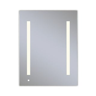 "Robern AC2430D4P1RW  AiO 23-1/4"" x 30"" x 4"" Single Door Medicine Cabinet with Right Hinge, Task Lighting, and Interior"