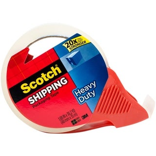 Scotch Heavy Duty Packaging Tape With Refillable Dispenser-38.2 Yards