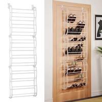Shop 12 Tier Over The Door 36 Pair Shoe Rack Free