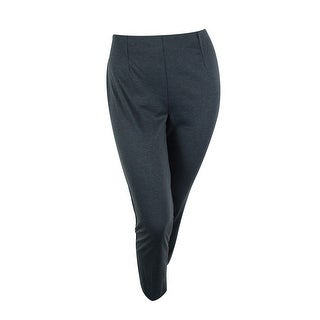 NY Collection Women's Solid Pants - Grey - 16p