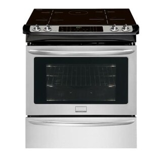 Frigidaire FGIS3065P 30 Inch Wide 4.6 Cu. Ft. Built-In Induction Range with Smudge-Proof Stainless Steel - Stainless Steel