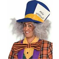Mad Hatter Costume Wig - gray