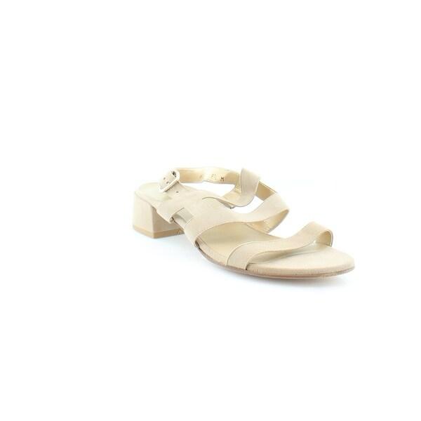 Stuart Weitzman Barrio Women's Sandals & Flip Flops Cashew