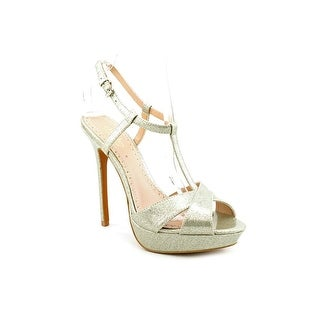 Charles By Charles David Tangy Women Open Toe Synthetic Silver Platform Sandal