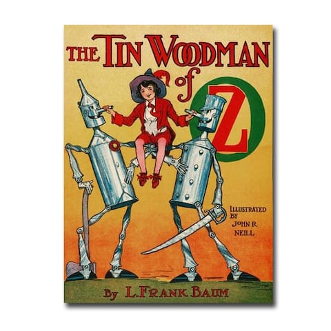 The Tin Woodman of Oz by John R Neill Gallery Wrapped Canvas Giclee Art (24 in x 18 in)