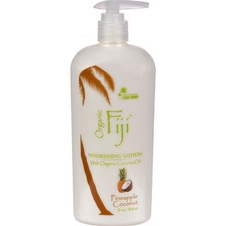 Organic Fiji - Nourishing Lotion - Pineapple Coconut ( 1 - 12 FZ)