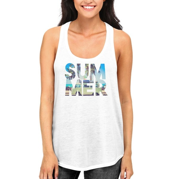 Shop Cute Summer White Tank Tops For Women and Girls Hot