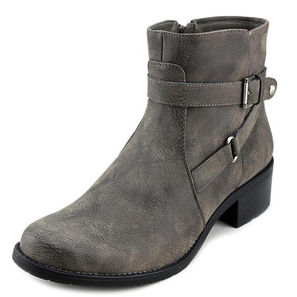 Anne Klein Lynzee Dark Taupe Boots