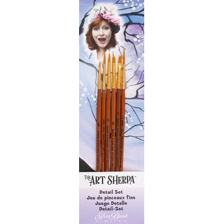 Art Sherpa Detail Brush Set 6/Pkg-