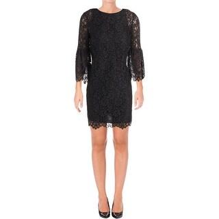 Juicy Couture Black Label Womens Cocktail Dress Lace Mini