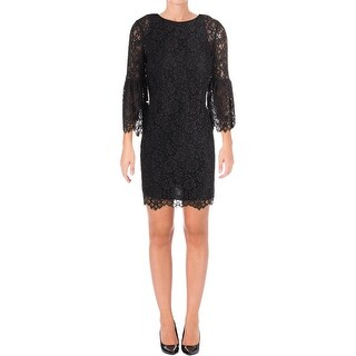 Juicy Couture Black Label Womens Cocktail Dress Lace Mini