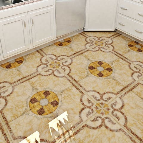 """SomerTile Cairoo 17.63"""" x 17.63"""" Ceramic Floor and Wall Tile"""