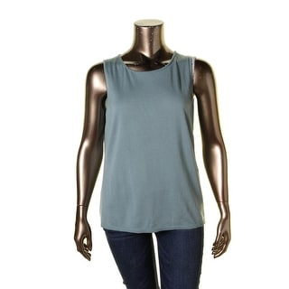 Lafayette 148 Womens Plus Tank Top Wool Scoop Neck - 1x