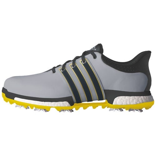 Shop Adidas Men s Tour 360 Boost Light Onix Bold Onix Vivid Yellow Golf  Shoes Q44845   Q44827 - Free Shipping Today - Overstock - 18696308 328c31590