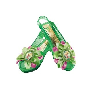 Disguise Tinker Bell Sparkle Shoes - Green