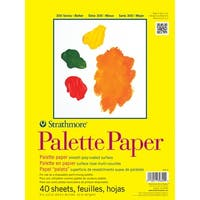 """40 Sheets - Strathmore Palette Paper Pad 9""""X12"""""""