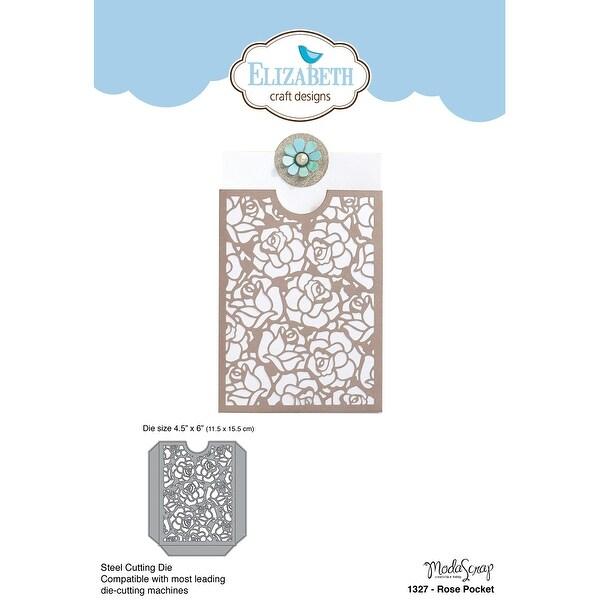 Shop Elizabeth Craft Metal Die By Modascrap Designs Rose Pocket 4 5