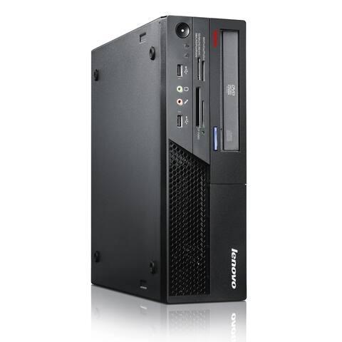 Lenovo ThinkCentre M57P Computer Intel Dual Core 2GB RAM 80GB HDD Windows 10 - Black